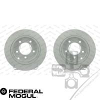 Chrysler Sebring Arka Disk Seti 262mm White Coated Federal Mogul