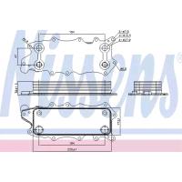 Jeep Grand Cherokee Motor Yağ Soğutucusu 3.0CRD WH 2005-2010 Nissens