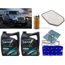 Jeep Wrangler JK 2.8CRD 2008- Tam Periyodik Bakım Seti