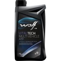 ATF Otomatik Şanzıman Yağı Wolf Oil Vitaltech Kırmızı 1Litre