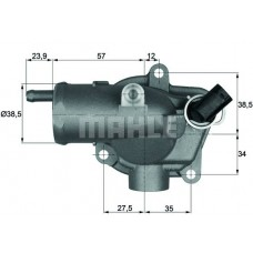 Jeep Grand Cherokee Termostat 2.7CRD 2002-2004 MAHLE 87C