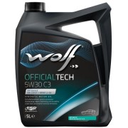 5Litre WOLF Motor Yağı OFFICIALTECH 5W30 C3 PARTİKÜLLÜ DPF