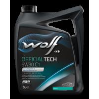 WOLF Oil Motor Yağı OFFICIALTECH 5W30 C1 5Litre