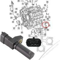 Chrysler 300C 3.0CRD 05-10 Krank Sensörü 5175763AB