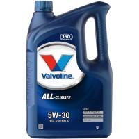 Valvoline 5W30 C2 - C3 Partiküllü Motor Yağı 5 Litre Üretim:2019