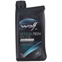 ATF 6 Otomatik Şanzıman Yağı Wolf Oil Officaltech Kırmızı 1Litre