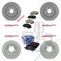 Chrysler Sebring 2006-2010 Ön Arka Disk Balata Seti White Coated